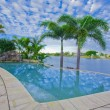 Infinity Pool with Views over canal — Stock Photo #5786320