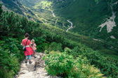 Hiking in the Tatra Mountains — Stock Photo