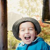 Laughing boy — Stock Photo