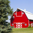 American Countryside With Blue Sky — Stock Photo #16560785