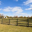 Royalty-Free Stock Photo: Wooden Fence on American Countryside