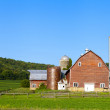 Countryside Farm in the morning — Stock Photo #16567125