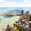 Aerial View (Chicago Downtown) — Stock Photo #16569223