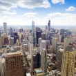 Aerial View (Chicago Downtown) — Stock Photo #16569413