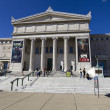 Stock Photo: CHICAGO, ILLINOIS - SEP 8: Field Museum of Natural History is located on Lake Shore Drive next to Lake Michigan, part of scenic complex known as Museum Campus Chicago, on September 8, 2012 i