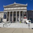 CHICAGO, ILLINOIS - SEP 8: The Field Museum of Natural History is located on Lake Shore Drive next to Lake Michigan, part of a scenic complex known as the Museum Campus Chicago, on September 8, 2012 i - Stock fotografie