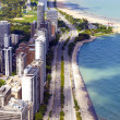 Chicago Downtown Aerial View — Stock Photo