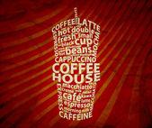 Fondo del café — Foto de Stock