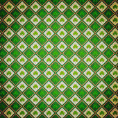 Shamrock Vintage Pattern — Stock Photo