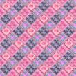 Valentines Grunge Background or Retro Interior Wallpaper — Stock Photo