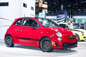 CHICAGO - FEB 12: Fiat 500 Abarth on display at the 2012 Chicago — Stock Photo