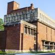 Stock Photo: RICHLAND, WI - SEPTEMBER 2: Frank Lloyd Wright's monolithic Germ
