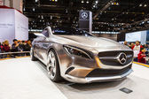 CHICAGO - FEB 16: The Mercedes Style Coupe Concept Car on displa — Fotografia Stock
