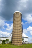 Traditional American Silos — Stock Photo