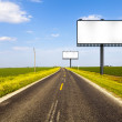 Billboard on Country Road — Stock Photo #22756466