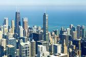 芝加哥市中心 — 图库照片