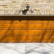 Garage Door — Stock Photo