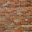 Urban Background (Red Brick Wall Texture)  — Stock Photo