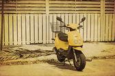 Vintage Scooter — Stockfoto