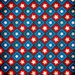 Retro Grunge America Four July Wallpaper Pattern — Stok fotoğraf