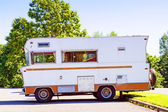 Retro Camper — Stock Photo