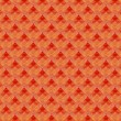 Retro Wallpaper Pattern - Foto de Stock