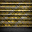 Retro Grunge Wallpaper Pattern - Stockfoto