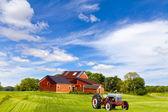 американский сельской местности — Стоковое фото