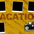 Vacations Background (pictures with empty space for your text)  — Stock Photo