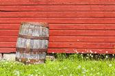 Starý barel — Stock fotografie
