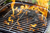 House Grill — Stock Photo