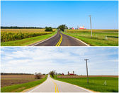 American Countryside on Spring and Summer — Stock Photo