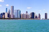 Chicago Skyline In Summer — Stock Photo