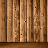 Projeto de quarto resumo criativo com interio de madeira vintage grunge — Foto Stock