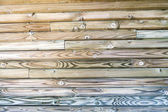 Interior Design - Wooden Wall — Stock Photo