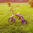 Old tricycle — Stock Photo