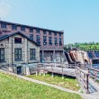 Stock Photo: Old hydroelectric power plant