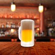 Fresh cold beer given in chilled pint — Stock Photo #29796101