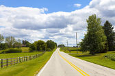 Country Road — Stockfoto