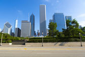 Chicago Road Side View — Stock Photo