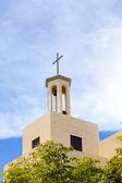 Oude kerktoren — Stockfoto