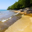 Upper Peninsula (Pictured Rock National Lake Shore) - Michigan, — Stock Photo