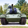 old tank — Stock Photo
