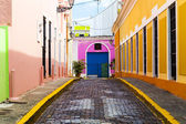 Architecture in San Juan Old City — Stock Photo