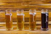 Beer Flight — Stock Photo