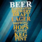 American  Beer — Stock Photo