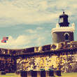 Stock Photo: El Morro Castle