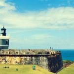 El Morro Castle — Stock Photo