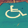 Stock Photo: Handicap sign
