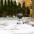 BBQ in Winter — Stock Photo #41563943